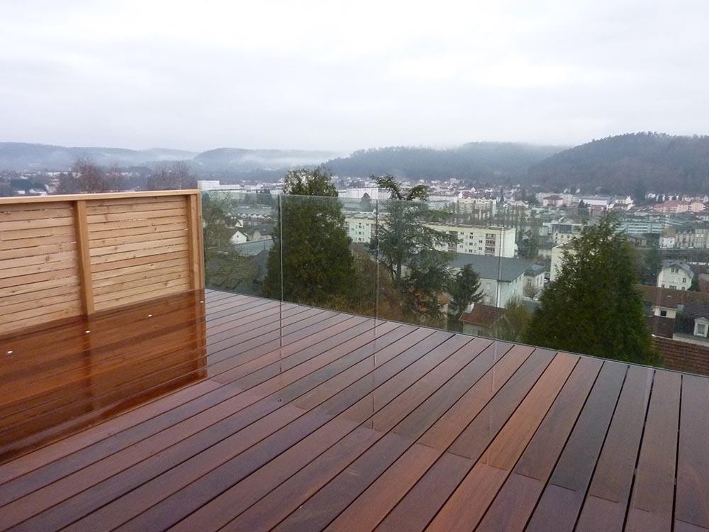 Terrasse Exterieur En Bois - Aménagement extérieur terrasse bois pose ou en kit ATELIER CONSTRUCTION MAISON BOIS