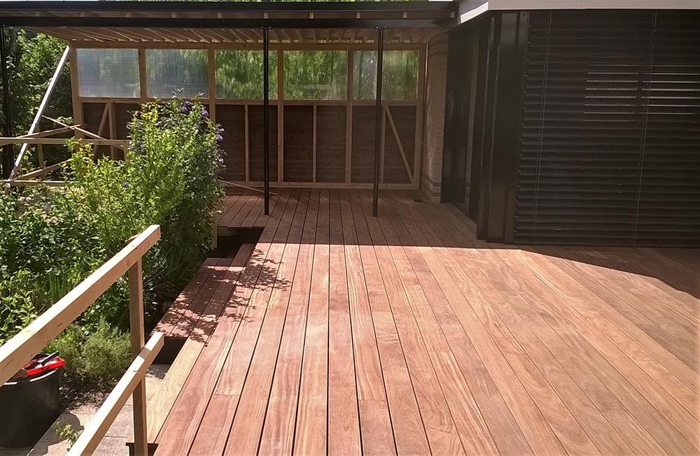Aménagement extérieur terrasse bois pose ou en kit  ~ Terrasse Bois En Kit