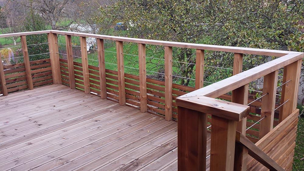 Amenagement Exterieur Terrasse Bois Pose Ou En Kit Atelier