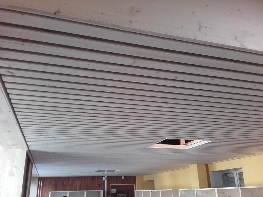 Habillage plafond et mur r novation de murs et plafonds for Habillage faux plafond