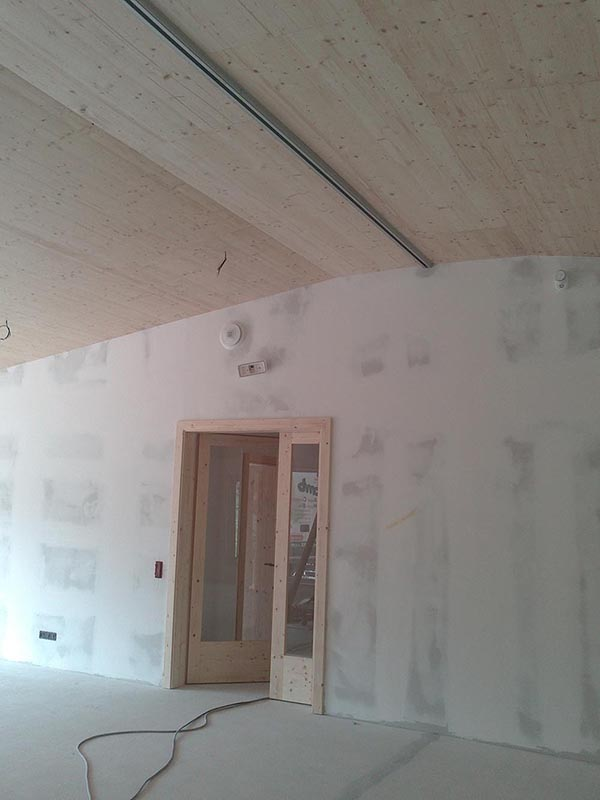 Habillage plafond et mur r novation de murs et plafonds - Habillage mur cuisine ...
