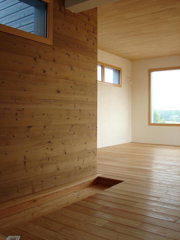 Parquet bois sur mesure pose de plancher en bois atelier for Pose plancher bois exterieur