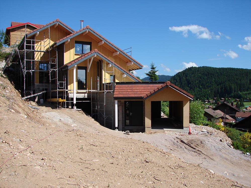 savoir faire construction ossature bois suivi de chantier atelier construction maison bois. Black Bedroom Furniture Sets. Home Design Ideas