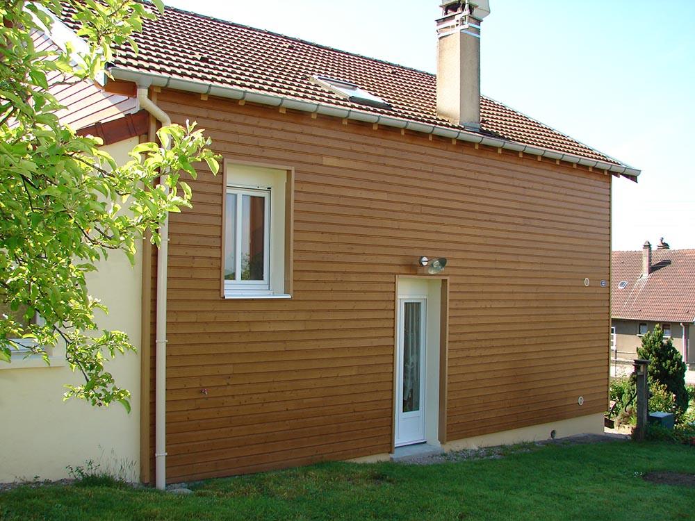 r233novation murs pose bardage isolation ext233rieure