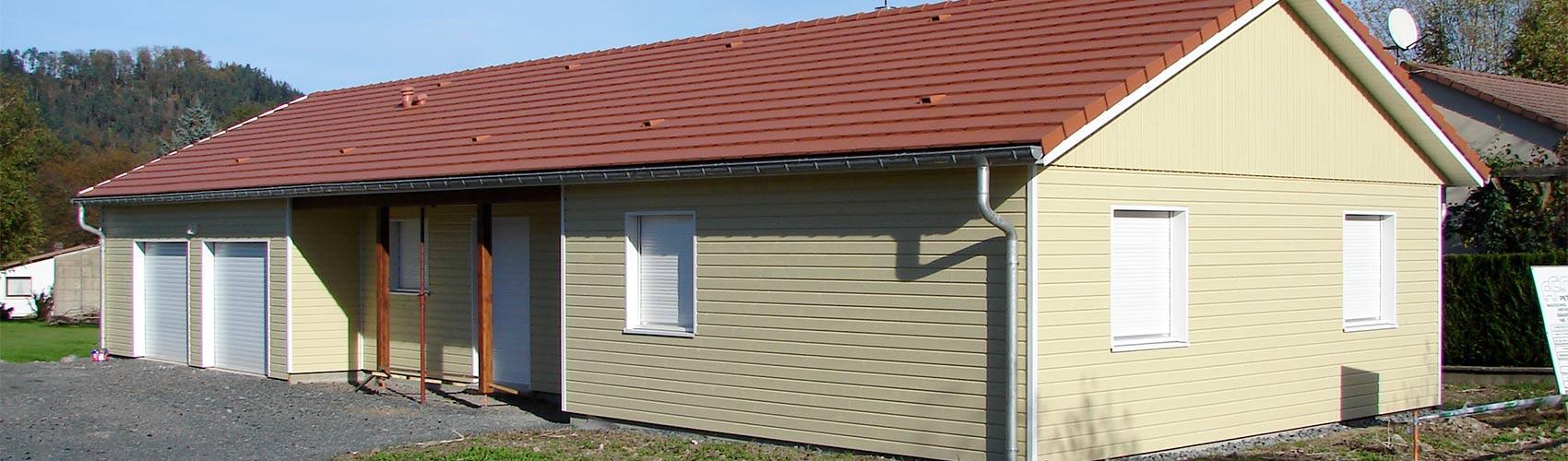 Maison Ossature Bois Vosges constructeur maisons ossature bois mobilier escalier vosges